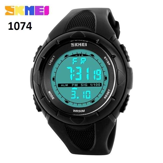 Reloj Skmei digital sumergible SKM1074 - 1