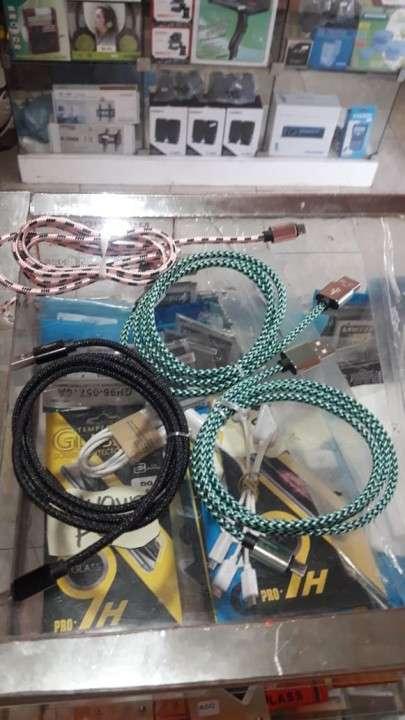 Cable usb 1 metro cordón - 0