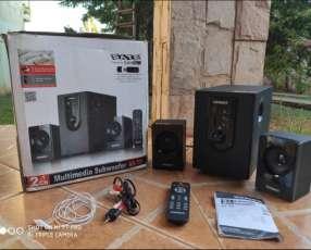 Parlante speaker Subwoofer Satellite AS-705 2-1 Ch