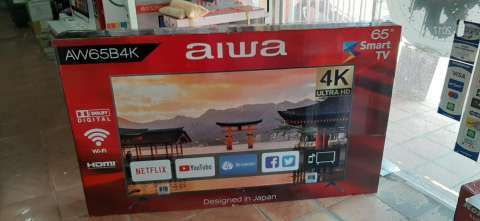 Smart tv led full UHD 4k Aiwa 65 pulgadas