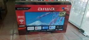 Smart tv led Aiwa full UHD 4k de 50 pulgadas