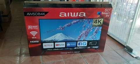 Smart tv led Aiwa full UHD 4k de 50 pulgadas - 0