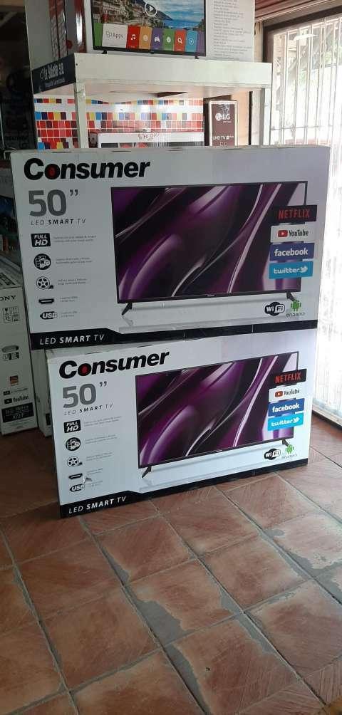 Smart tv led Consumer full HD 50 pulgadas - 0