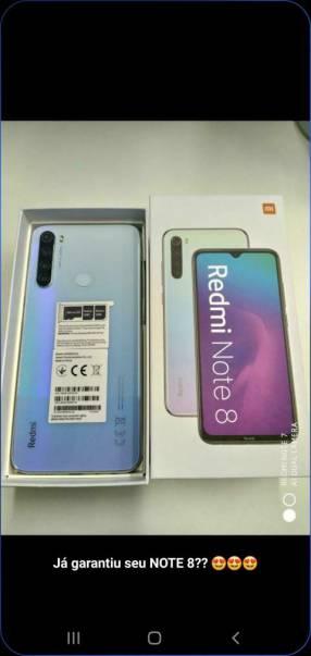 Redmi Note 8 de 128 gb nuevo