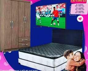 Dormitorio 3x1