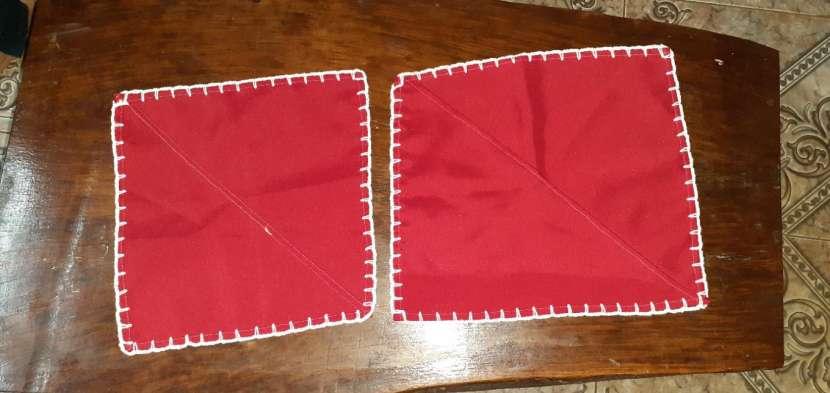 Manteles mantelitos de todo tamaño con diseños y/o con crochet - 5