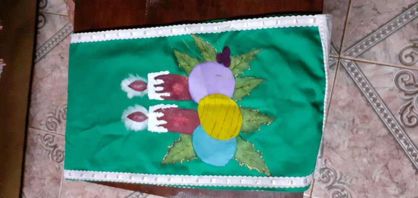 Manteles mantelitos de todo tamaño con diseños y/o con crochet - 7