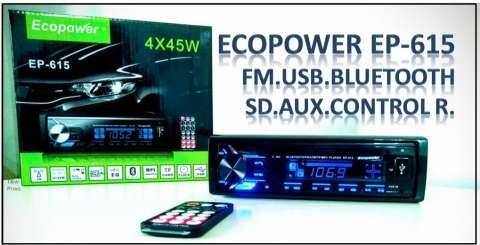 Autoradio con bluetooth fm y usb
