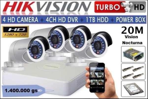 Circuito cerrado Hikvision - 0
