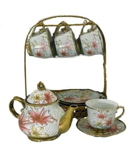Juegos de té de Porcelana, 13 Piezas.