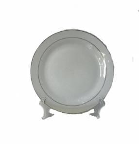 Plato Redondo Blanco de 10,5cm.