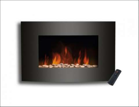 Estufa de hogar electrica de pared consumer (cmrwall
