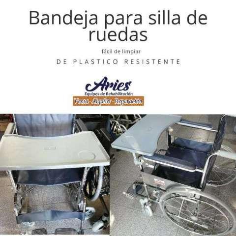 Bandeja de Alimentación para silla de ruedas en Paraguay
