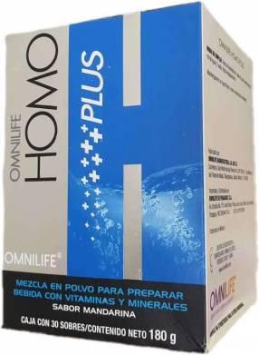 Homo Plus Omnilife caja 30 sobres