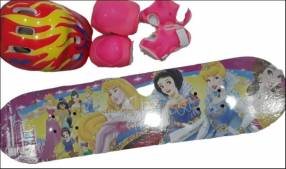 Skate de Princesa.