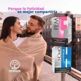Homoplus y Femplus Hormonal Omnilife caja 30 sobres
