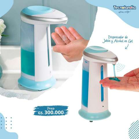 Dispensador de jabón y alcohol en gel Soap Magic