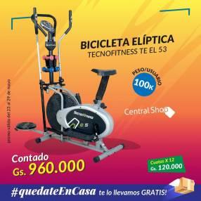 Bicicleta elíptica 100 kilos