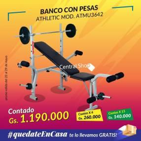 Banco con pesas Athletic