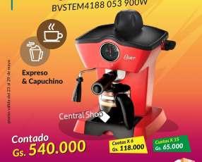 Cafetera Oster espresso y capuchino