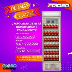 Exhibidora Frider 500 litros