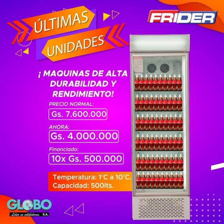 Exhibidora Frider 500 litros - 0