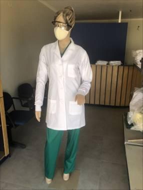 Guardapolvo, bata de laboratorio mangas largas y cortas