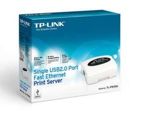 Servidor de impresora de un solo puerto USB 2.0 TL-PS110U