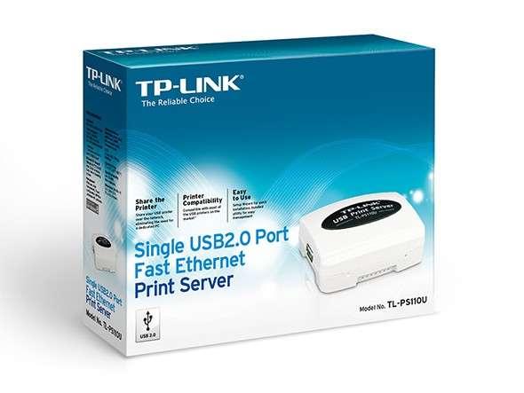 Servidor de impresora de un solo puerto USB 2.0 TL-PS110U - 0