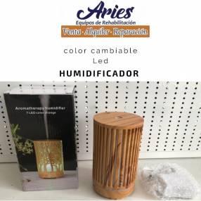 Humidificador con luces LED de 7 colores en Paraguay