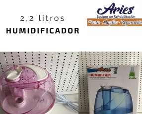 Humidificador Ultrasonico para bebes y adultos en Paraguay