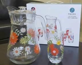 Juegos de jarras y vasos