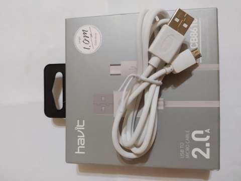 Cable micro USB para Samsung y otras marcas