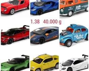 Autos a escala 1.38