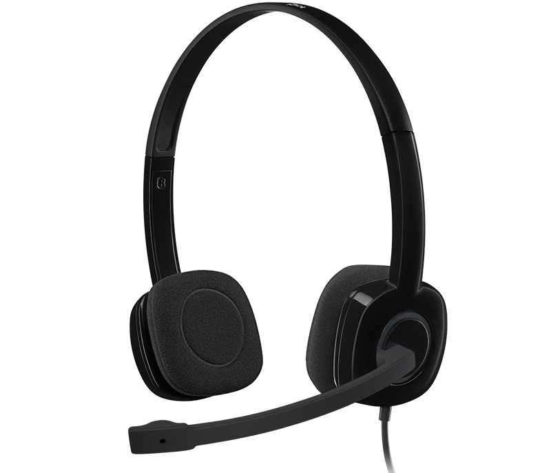 Auricular con micrófono Logitech H151 - 0