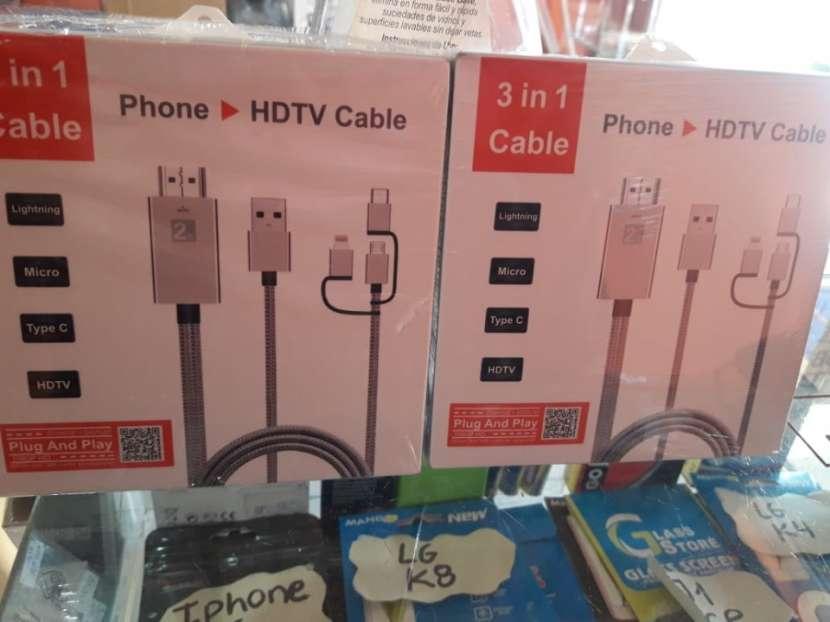 Cable HDTV del celular a la tv - 0