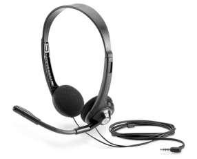 Auricular con micrófono HP 2EM62AA negro