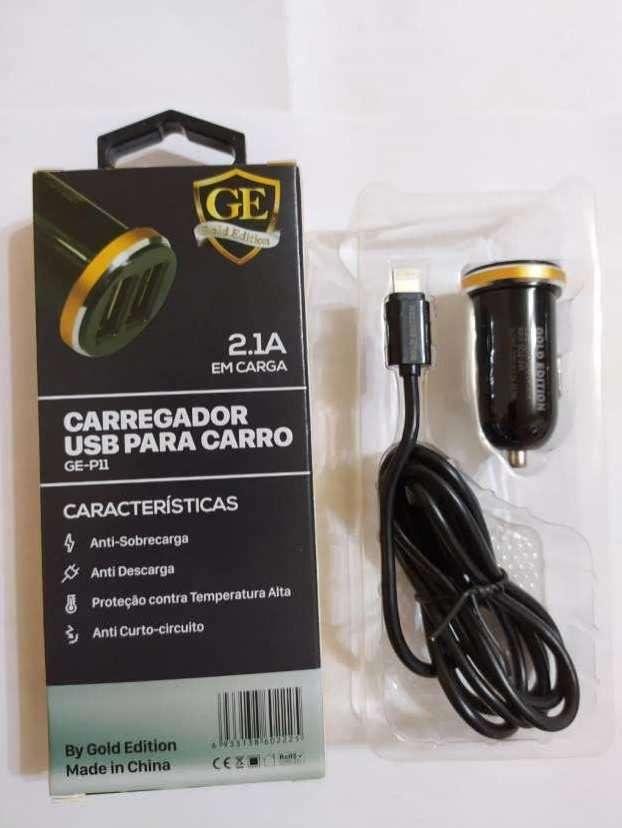 Cargador para auto con cable iPhone - 2