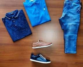 Remera calzado y jeans originales