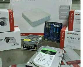 Instalación de equipos CCTV.