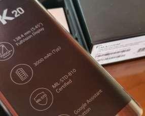 LG k20 nuevo en caja más protector antishok de regalo