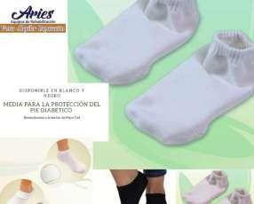 Media para la protección del pie diabético