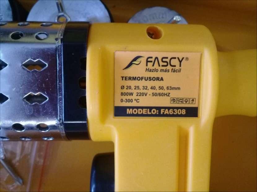 Soldador de termofusión eléctrico 800 watts para caños - 5