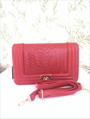 Cartera SP Paris 61235 rojo
