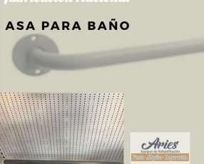 Asa para baño de hierro pintado fabricación nacional