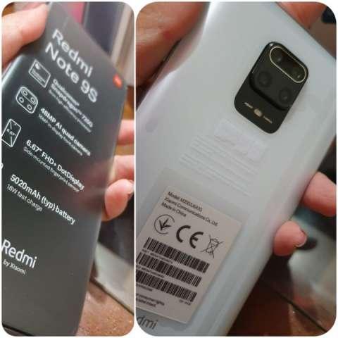 Redmi Note 9s 64 gb en caja sellado