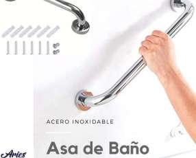 Asa de acero inoxidable para baño