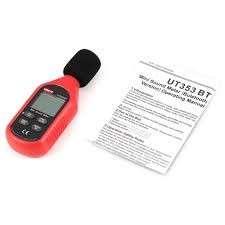 Decibelímetro digital compacto Ut353bt bluetooth - 2