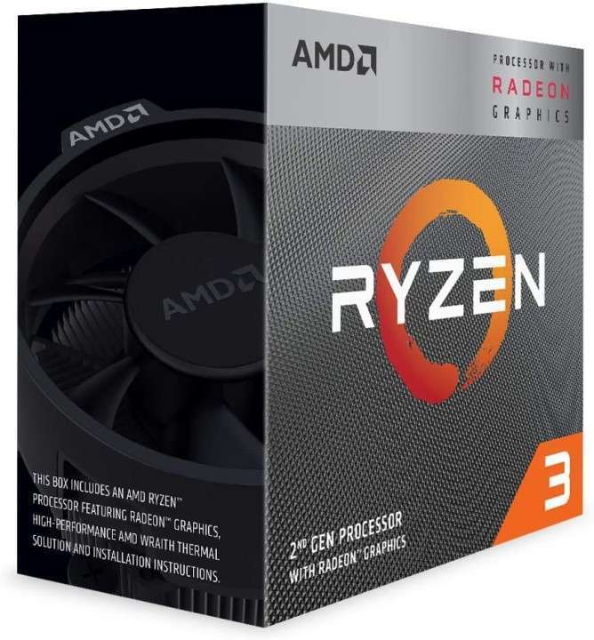 Procesador AMD AM4 Ryzen 3 3200G - 1