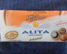 Jabón de aceite de coco puro